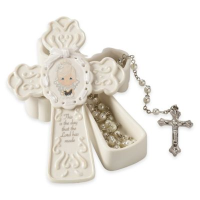 "Precious Moments® ""This Is The Day The Lord Has Made"" Girl Rosary Box"