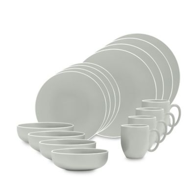 Vera Wang Wedgwood® Vera Colors 16-Piece Dinnerware Set in Teal