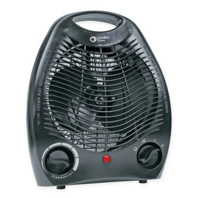 Comfort Zone® Howard Berger Electric Portable Heater Fan