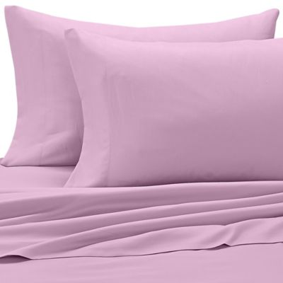 Benzoyl Peroxide-Resistant Microfiber Full Sheet Set in Lavender