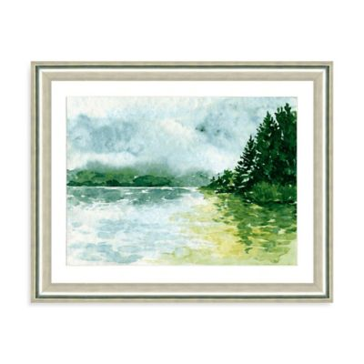 Watercolor Landscape II Giclée Framed Art Print
