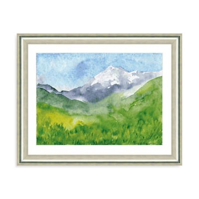 Watercolor Landscape V Giclée Framed Art Print