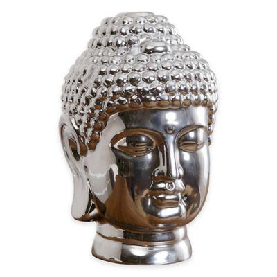 Abbyson Living® Buddha Figural Statue in Silver