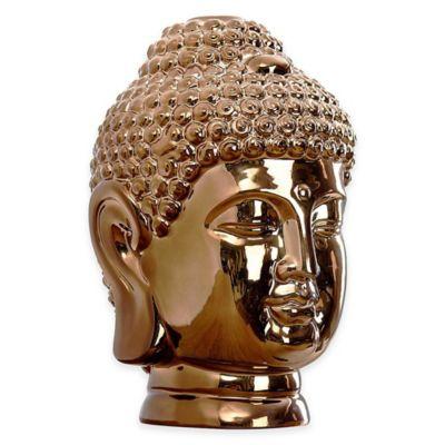 Abbyson Living® Buddha Figural Statue in Copper