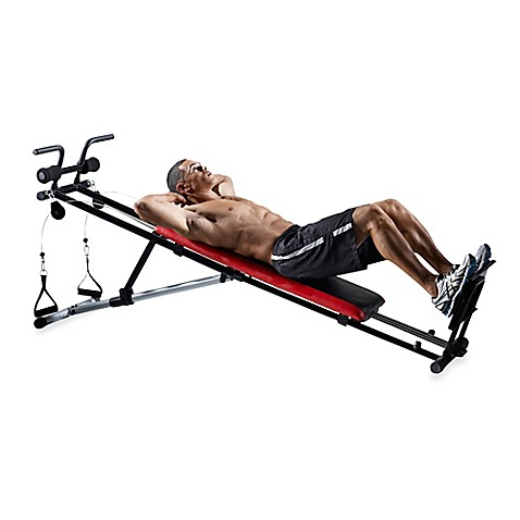 Weider 174 Ultimate Body Works Adjustable Incline Exercise