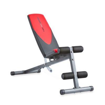 Weider® Pro 225 L Adjustable Incline Bench