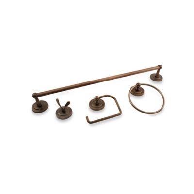Palmer 4-Piece Bath Hardware Set in Oil-Rubbed Bronze