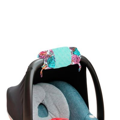Itzy Ritzy® Ritzy Wrap™ Infant Car Seat Handle Arm Cushion in Watercolor Bloom