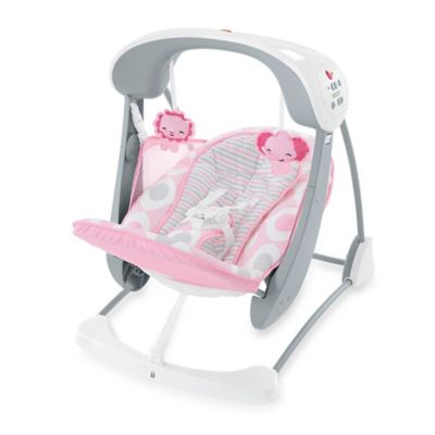 Fisher-Price® Deluxe Take-Along™ Swing and Seat in Pink