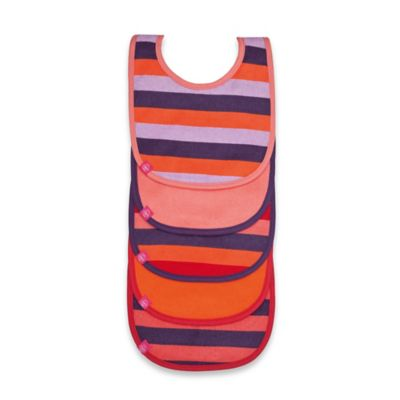 Lassig™ 5-Pack Bib Set in Multicolor Stripes