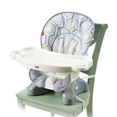 Fisher-Price® Deluxe Spacesaver High Chair in Geo Meadow™
