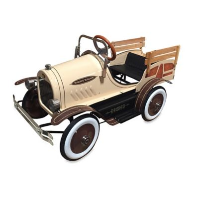 Dexton Woody Delivery Pedal Truck