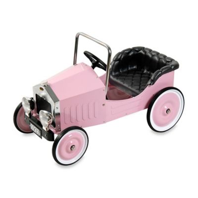 Dexton Voiture Classic Pedal Car in Pink
