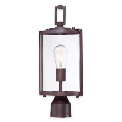 Minka Lavery® Ladera 1-Light Outdoor Post-Mount Light in Alder Bronze