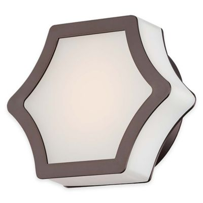 Minka Lavery® Vestige 1-Light LED Wall Sconce in Harvard Court Bronze