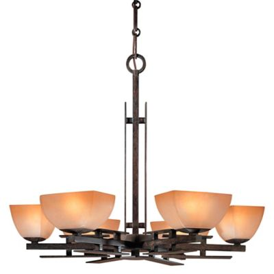 Minka Lavery® Lineage™ 6-Light Chandelier in Iron Oxide