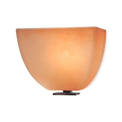 Minka Lavery® Lineage™ 1-Light Wall Sconce in Iron Oxide