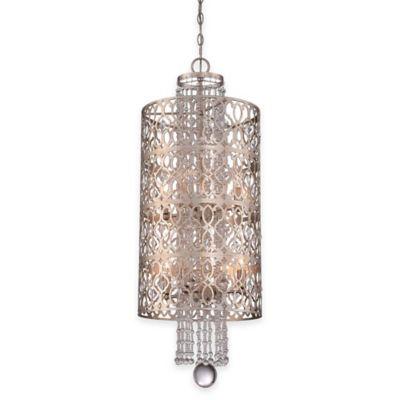 Minka Lavery® Lucero 8-Light Foyer Pendant in Silver