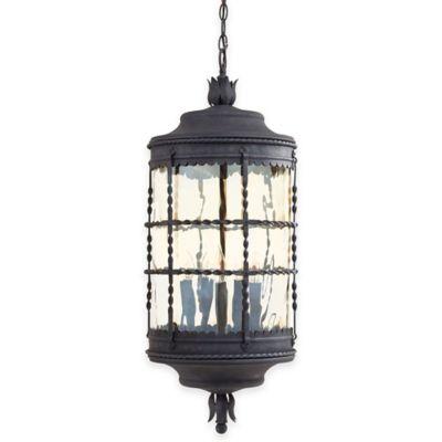 Minka Lavery® Mallorca™ Chain Hung Outdoor 5-Light Lantern in Iron