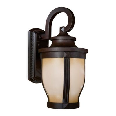 Minka Lavery® Merrimack™ Outdoor Wall-Mount 20-Inch Light in Bronze