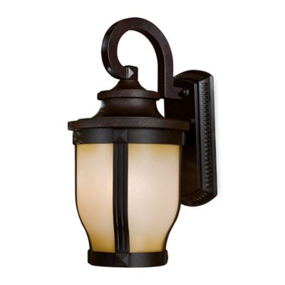 Minka Lavery® Merrimack™ Outdoor Wall-Mount 16.25-Inch Light in Bronze