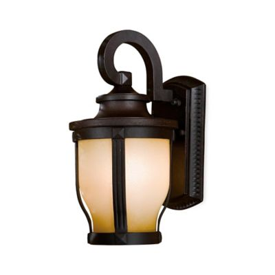 Minka Lavery® Merrimack™ Outdoor Wall-Mount 12.25-Inch Light in Bronze