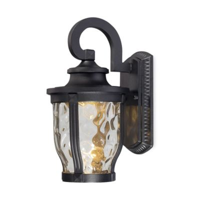 Minka Lavery® Merrimack™ Wall-Mount Outdoor LED Light in Black