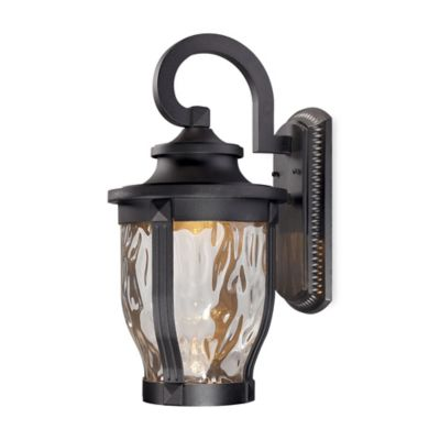 Minka Lavery® Merrimack™ Outdoor Wall-Mount 19.75-Inch LED Light in Black