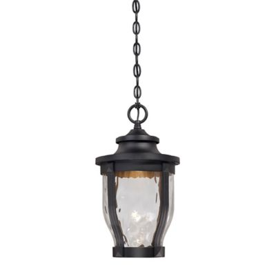 Minka Lavery® Merrimack™ Chain Hung Outdoor LED Light in Black