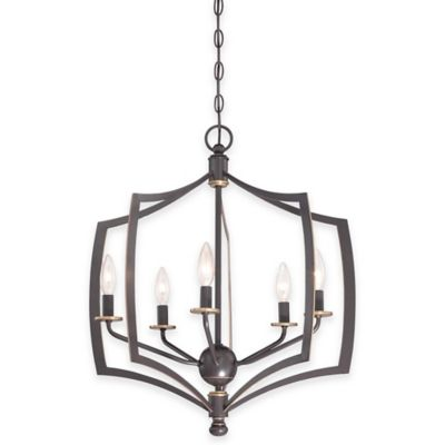 Minka Lavery® Middletown 5-Light Chandelier in Downtown Bronze