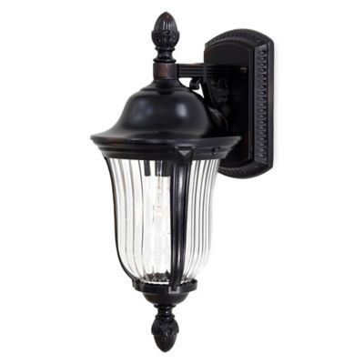 Morgan Park™ Wall-Mount Outdoor Light in Black