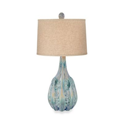 Kathy Ireland Home® by Pacific Coast Lighting® Isla Majorca Table Lamp in Crème