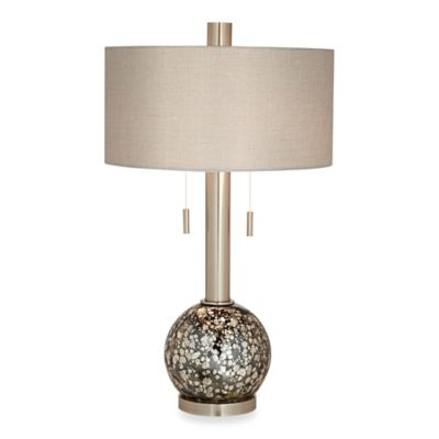 Pacific Coast® Lighting Empress Table Lamp in Brushed Nickel