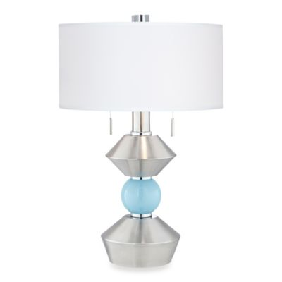 Pacific Coast® Lighting Sterling Table Lamp in Brushed Nickel