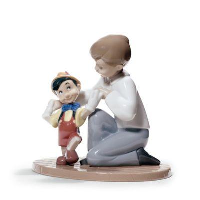 Nao® Disney® Porcelain Pinocchio's First Step Figurine