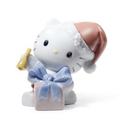 Nao® Hello Kitty Happy Holidays Porcelain Figurine