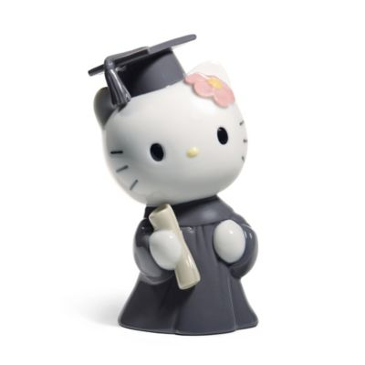 Nao® Hello Kitty Graduation Day Porcelain Figurine