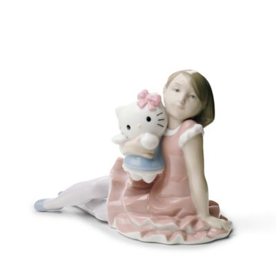 Multi Porcelain Figurine