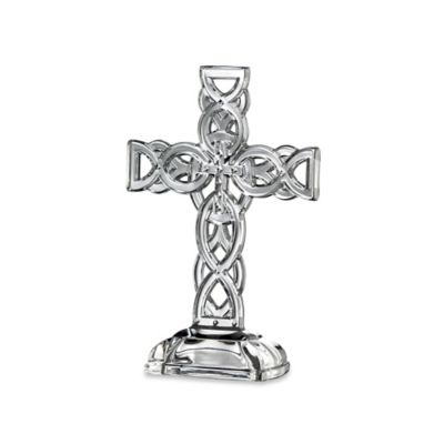 Galway Crystal 10-Inch Celtic Cross