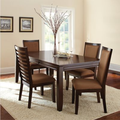 Steve Silver Co. Cornell 6-Piece Dining Set in Merlot Cherry