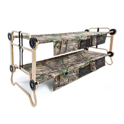 Large Cam-O-Bunk™ by Disc-O-Bed with Realtree XTRA® Camouflage Design in Green