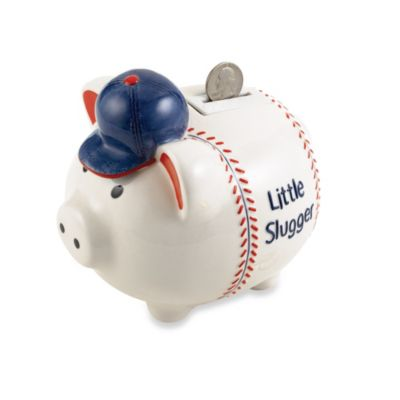 Mud Pie® Little Slugger Musical Piggy Bank