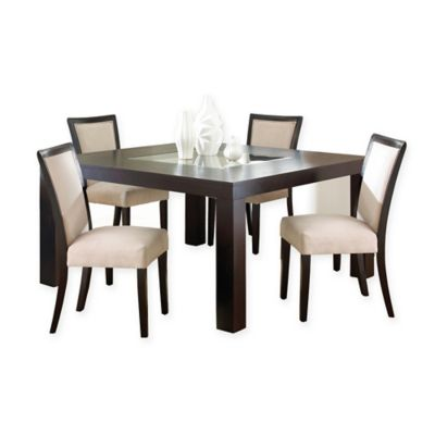 Steve Silver Co. Movado 5-Piece Dining Set in Cherry