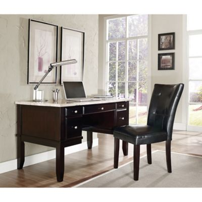 Steve Silver Co. Monarch Writing Desk and Chair Set