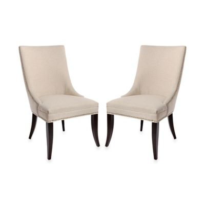 Safavieh Mattie Side Chairs in Natural (Set of 2)