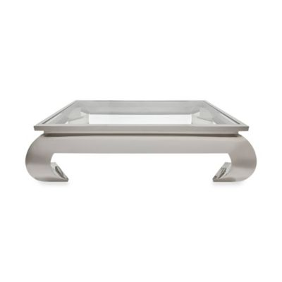 Safavieh Royce Coffee Table in Stainless Steel