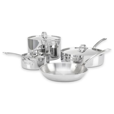 Viking® 3-Ply Stainless Steel 7-Piece Cookware Set