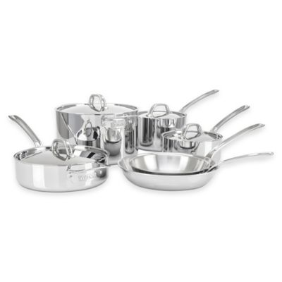 Viking® 3-Ply Stainless Steel 10-Piece Cookware Set