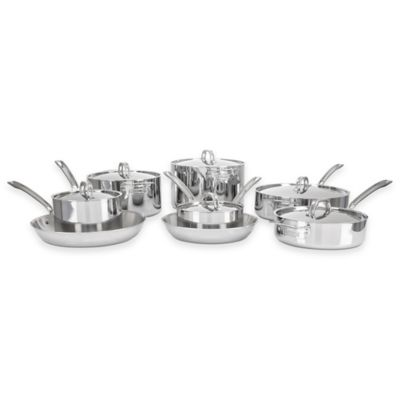 Viking® 3-Ply Stainless Steel 14-Piece Cookware Set