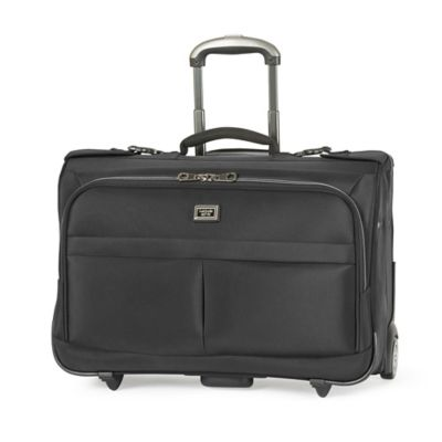 Latitude 40°N™ Freehold 2-Wheel Carry On Rolling Garment Bag in Black